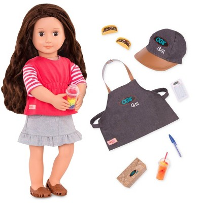 Our Generation Deluxe Food Truck Doll - Rayna