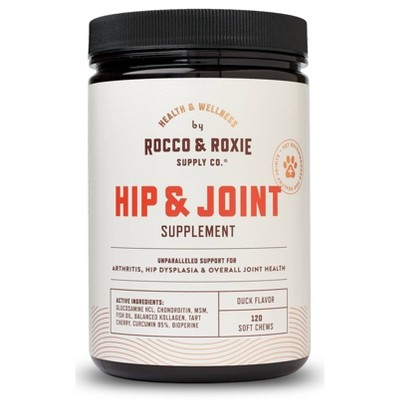 Rocco & Roxie Supply Co. Hip & Joint Supplement for Dogs - 120ct
