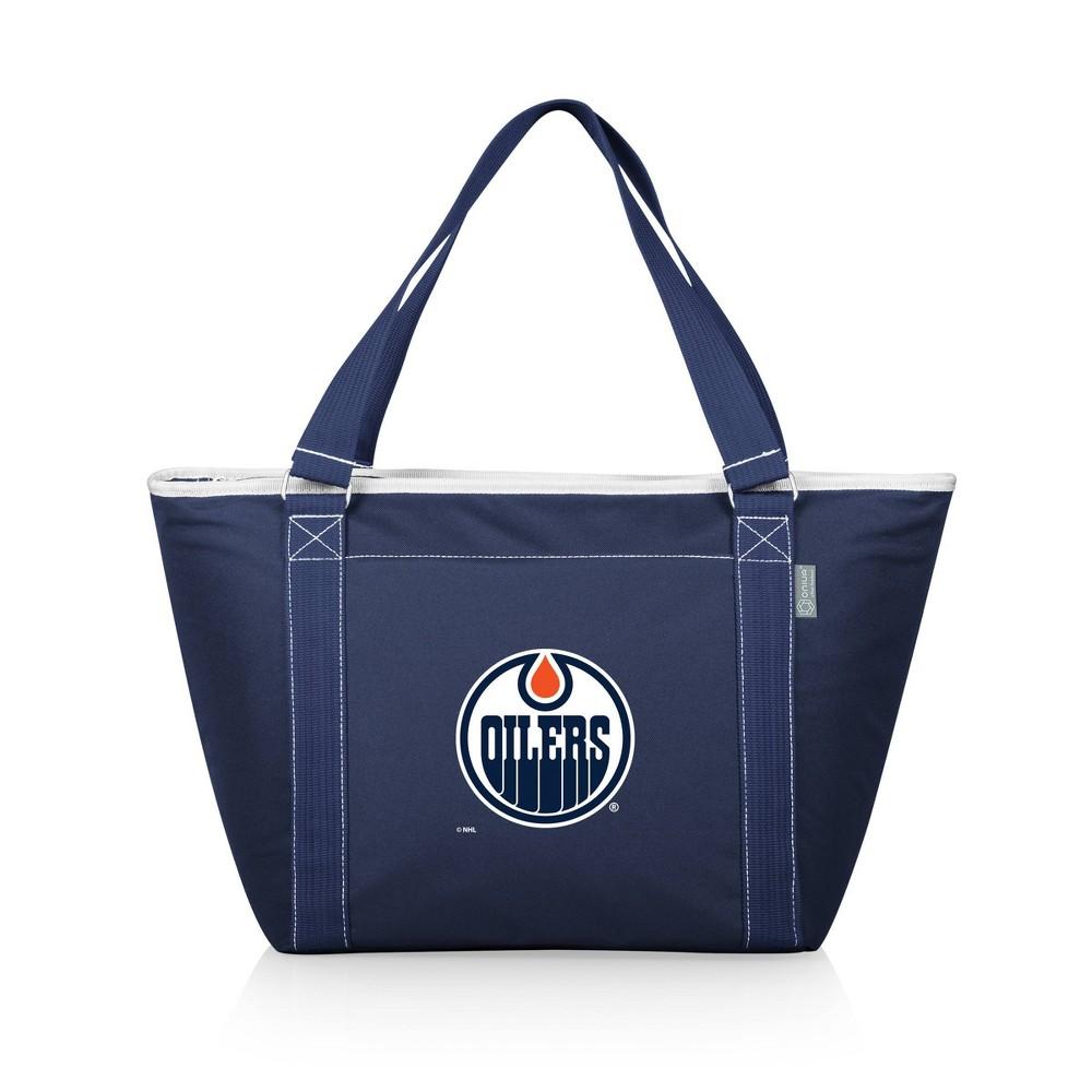 Nhl Edmonton Oilers Topanga Cooler Tote Bag Blue