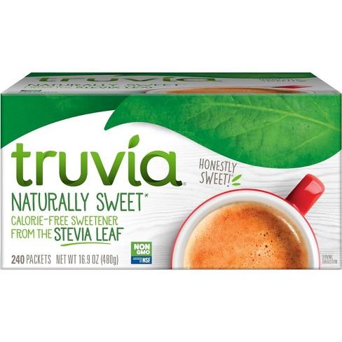 Truvia Calorie - Free Stevia Sweetener Packets - 16.9oz/240pk - image 1 of 4