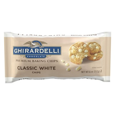 Baking Chips & Chocolate: Ghirardelli Classic White Chocolate Baking Chips