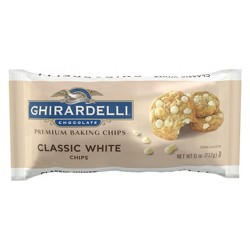 Ghirardelli White Premium Baking Chips 10oz