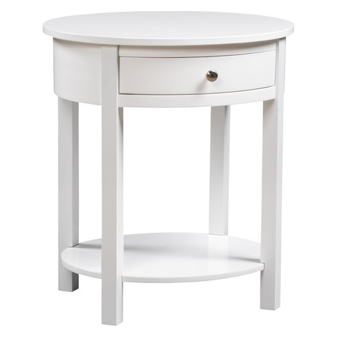 Classic Accents Cypress End Table White - Johar Furniture - image 1 of 4