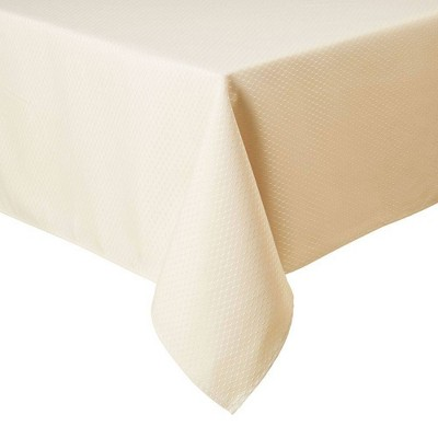 "60""X84"" Mckenna Tablecloth Cream - Town & Country Living"
