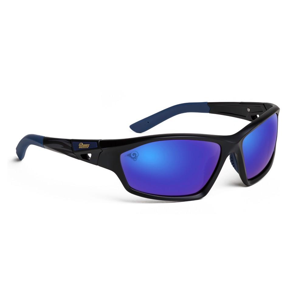 NFL Los Angeles Rams Premium Lateral Sunglasses, Adult Unisex