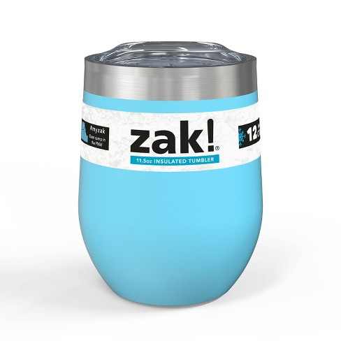 Zak! Designs 11.5oz Double Wall Stainless Steel Wine Tumbler - image 1 of 4
