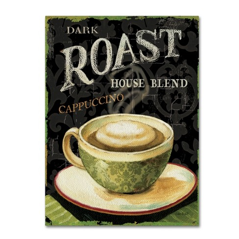 Trademark Global Lisa Audit 'Today's Coffee III' Unframed Wall Canvas Art - image 1 of 3