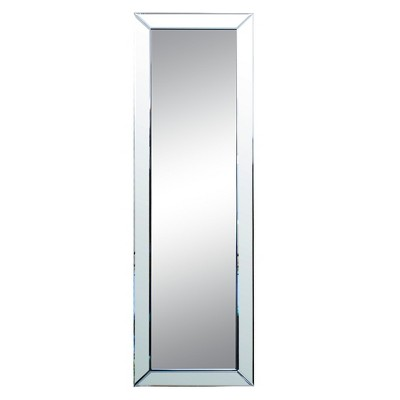 Rectangle Lockport Decorative Wall Mirror Light Silver - Abbyson Living