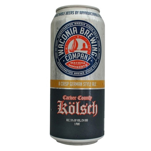 Waconia® Carver County Kolsch - 4pk / 16oz Cans - image 1 of 1