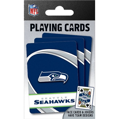 NFL Seattle Seahawks Playing Cards - image 1 of 3