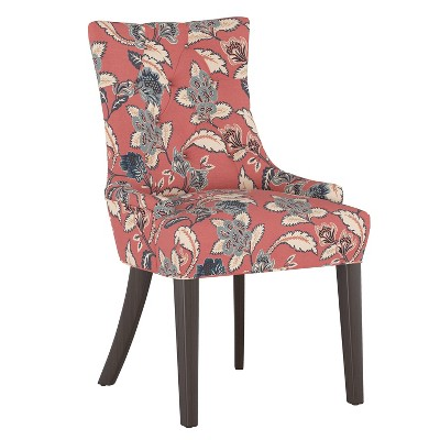 English Armchair Libby Floral Faded Red - Threshold™