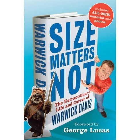 Size Matters Not - by  Warwick Davis (Hardcover) - image 1 of 1