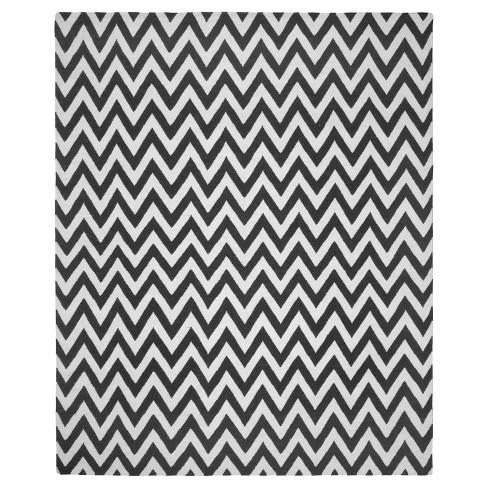 9'X12' Geometric Area Rug Black/Ivory - Safavieh - image 1 of 4
