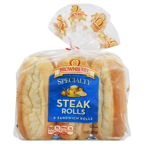 Brownberry Specialty Steak Rolls 15 oz - image 1 of 1