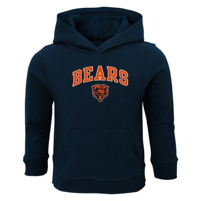 NFL Chicago Bears Toddler Boys' Touchdown Poly Fleece Hoodie - 12M