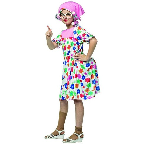 Rasta Imposta Granny Child Costume - image 1 of 1