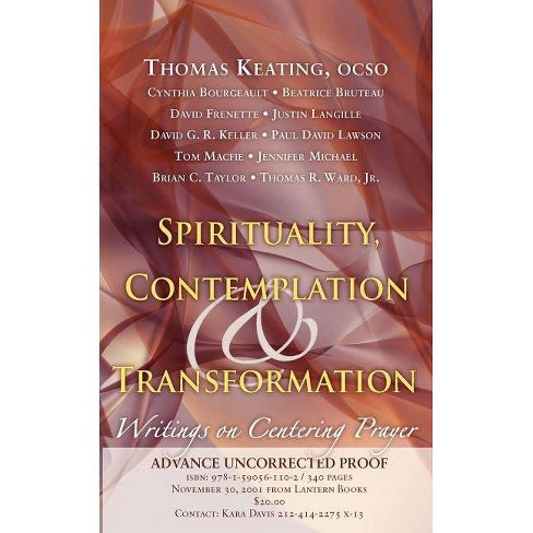 Spirituality, Contemplation, and Transformation - by  Thomas Keating (Paperback) - image 1 of 1