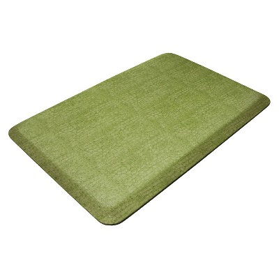 Green Designer Comfort Kitchen Mat 20 x32  - Newlife By Gelpro ®