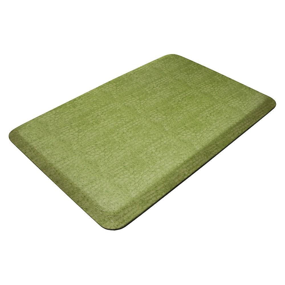 Green Designer Comfort Kitchen Mat 20