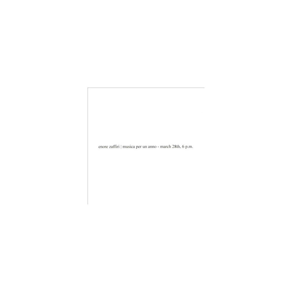 Enore Zaffiri - Musica Per Un Anno (CD)