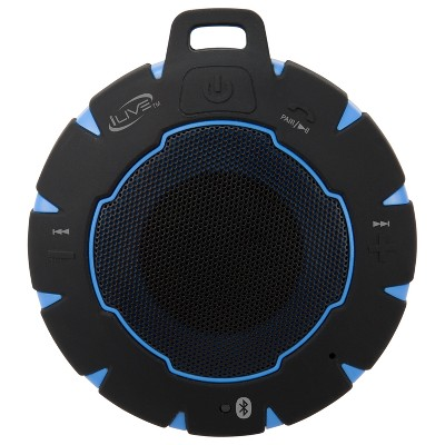 iLive Audio Waterproof, Sandproof, Shockproof Bluetooth Speaker with Speakerphone
