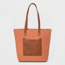 Zip Closure Hayden Tote Handbag - Universal Thread™