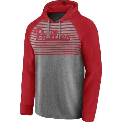 MLB Philadelphia Phillies Men's Lightweight Bi-blend Hoodie