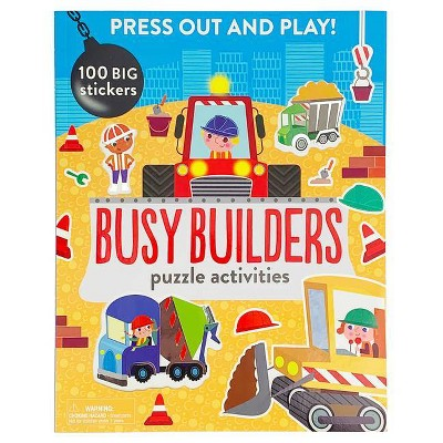 Busy Builders - by Various (Hardcover)