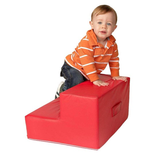 foamnasium Toddler Step Play Furniture - Red image number null