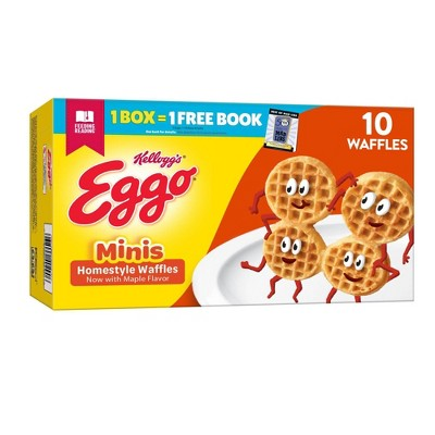 Eggo Minis Frozen Homestyle Waffles - 10.9oz/10ct