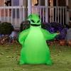 Gemmy Airblown Green Oogie Boogie Disney, 3.5 ft Tall, green - image 2 of 2