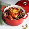 Tramontina 5.5qt Cast Iron Dutch Oven Red - image 3 of 4