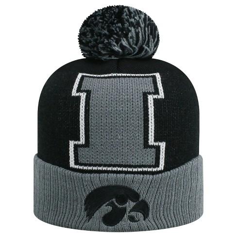 NCAA Iowa Hawkeyes Pom Knit Hat   Target 455e921db26