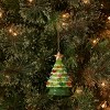 Ceramic Retro Christmas Tree Ornament Green - Wondershop™ - image 2 of 2