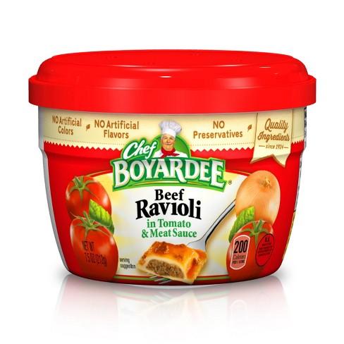 Chef Boyardee Beef Ravioli Cup 7.5 oz - image 1 of 1