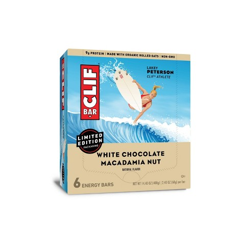 CLIF Bar White Chocolate Macadamia Nut Energy Bars - 6ct - image 1 of 4