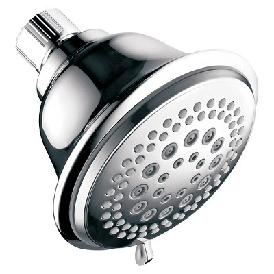 Aqua Dance Fixed Mount 7 Function Showerhead Chrome - Hotelspa