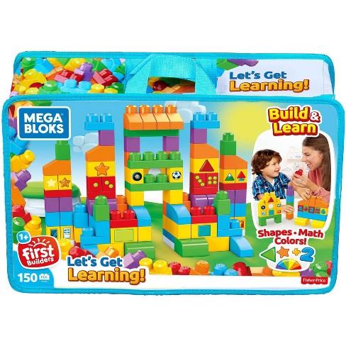 Mega Bloks First Builders Let's Get Learning Construction Set - image 1 of 4