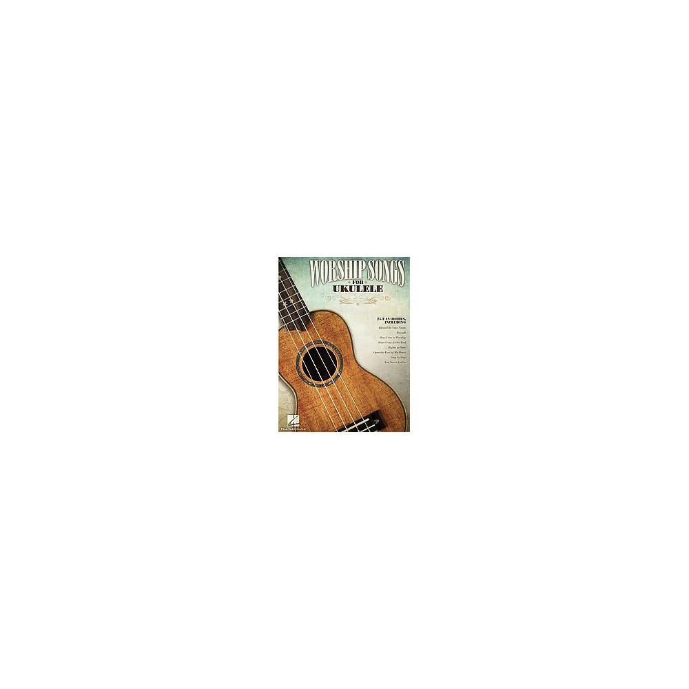 Worship Songs for Ukulele (Paperback)