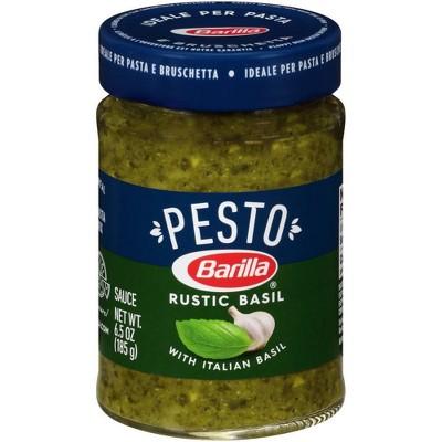 Barilla Rustic Basil Pesto Sauce 6.5oz