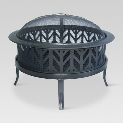 26  Wood Burning Fire Pit Arrowcut - Threshold™