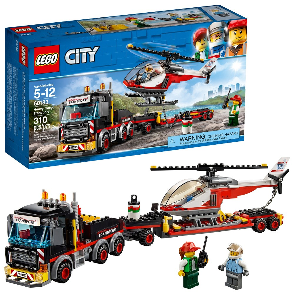 LEGO City Heavy Cargo Transport Building Kit (310 Pieces) Now $18.99 (Was $29.99)