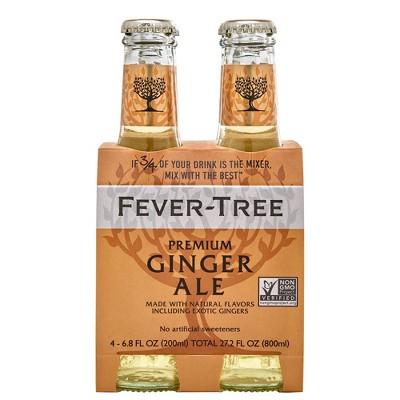 Fever-Tree Premium Ginger Ale - 4pk/200ml Bottles