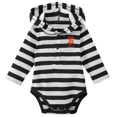 MLB San Francisco Giants Boys' Hooded Bodysuit - 18M