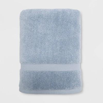Soft Solid Bath Towel Light Blue - Opalhouse™