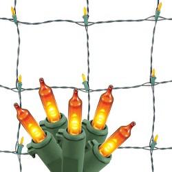 Philips 90ct LED Orange Halloween Net Lights