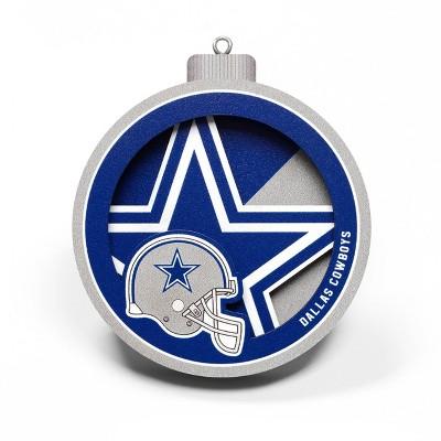 NFL Dallas Cowboys 3D Logo Series Ornament