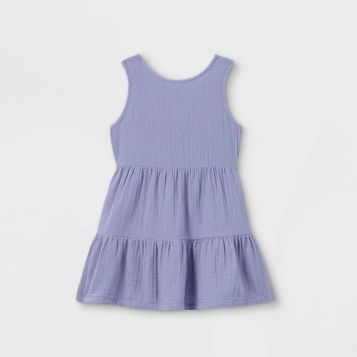 Toddler Girls' Tiered Tank Dress - Cat & Jack™