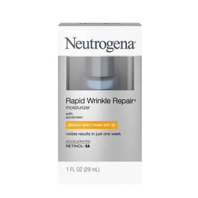 Neutrogena Rapid Wrinkle Repair Face & Neck Moisturizer - SPF 30 - 1 fl oz