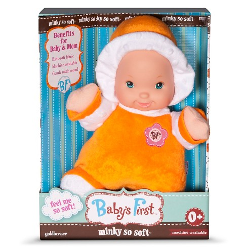 Baby's First™ Minky So Soft Baby Doll - Outfit Color Varies - image 1 of 1